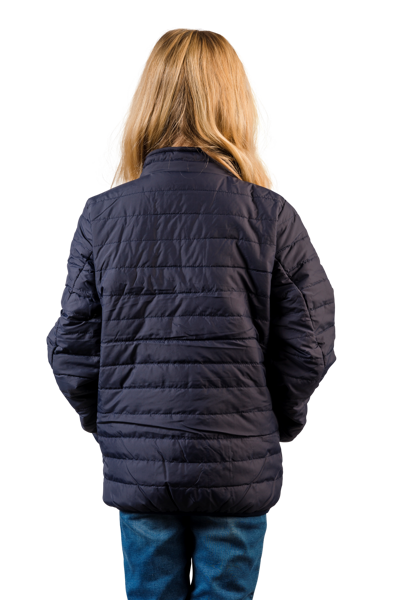 Padded Jacket Hood Barn/JR 134