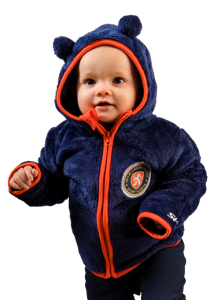 Teddy Zip Hood