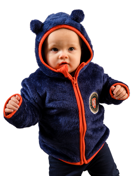 Teddy Zip Hood 86